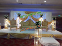 ASIAN WEDDING ELEGENT STAGE SOFA SET