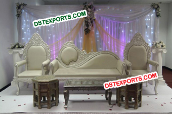 Asian Wedding Mehandi Stage Furniture For Wedding