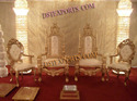 ASIAN WEDDING ELEGANT STAGE CHAIRS