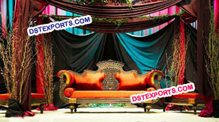 Asian Wedding New Designer Sofa