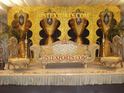 LATEST ASIAN WEDDING GOLD FURNITURE