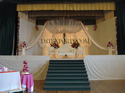 ENGLISH WEDDING STAGE WHITE FURNITURE SET