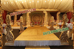 INDIAN WEDDING WOODEN MANDAP