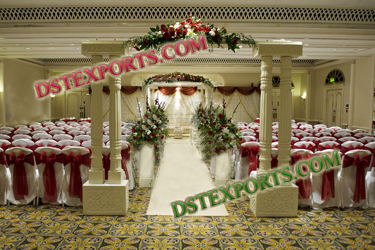 DOUBLE PILLAR WEDDING WELCOME GATE