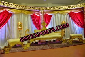 MUSLIM WEDDING KING SOFA SETS