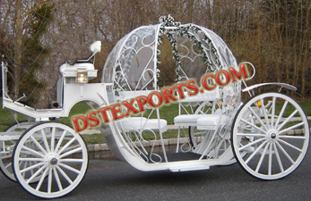 SWEET WEDDING CINDERALA CARRIAGES