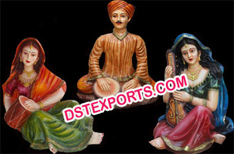 Wedding Rajasthani Statue Set