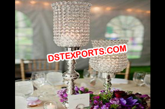 Latest Wedding Crystal Lamp For Table Decoration
