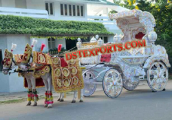 ROYAL DECORATED HORSE BUGGY