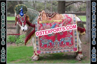 Gujrati Wedding Horse Decoration