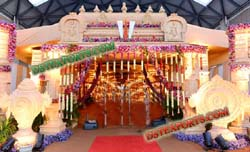 GUJRATI WEDDING WELCOME GATE