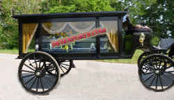 ROYAL FAMILY FUNERAL CARRIAGE