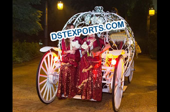 Wedding Lighted Cinderala Horse Carriage