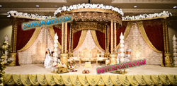 GUJRATI WEDDING WOODEN CARVED MANDAP