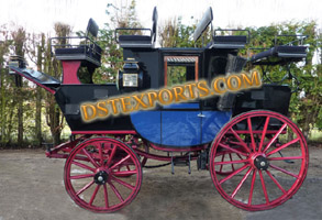 NEW DESIGNER HORSE CARRIAGE