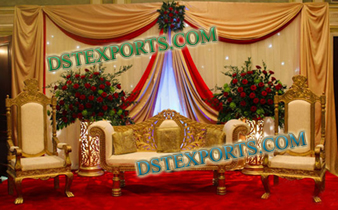 MUSLIM WEDDING GOLDEN FURNITURE