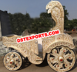 INDIAN WEDDING DECORATED HORSE BUGGY