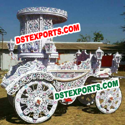 ROYAL INDIAN WEDDING HORSE BUGGY