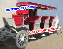 HORSE DRAWN TOURIST CARRIAGE