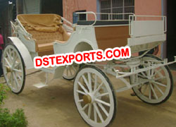 HORSE DRAWN VICTORIA BUGGY