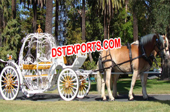 Cinderella Heart Horse Carriages