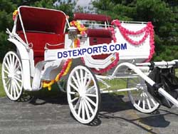INDIAN HORSE DRAWN BUGGY