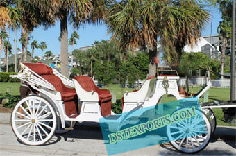 Two Seater Horse Drawn Tourin Carriage