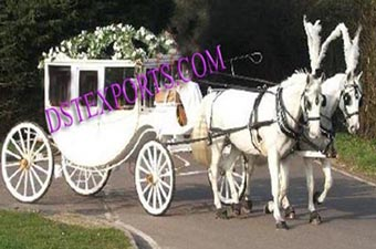 New  Wedding  Covered  Horse  Carriages