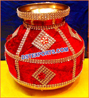 Indian Wedding Pots Decoration