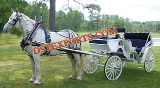 Wedding Antique New Horse Bugghy