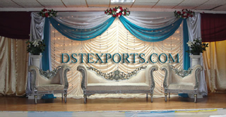 Asian Wedding Silver Furnitures