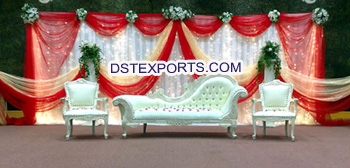 Asian Wedding Mehandi Stage Furniture For Sale