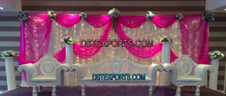 Wedding Muslim Shadi Silver Furniture