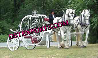 New Double Horse Cinderalla Carriage