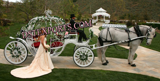 New English Wedding Cindrella Carriage