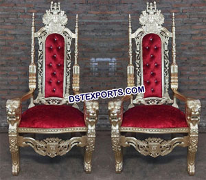 Wedding Chairs For Bride & Groom