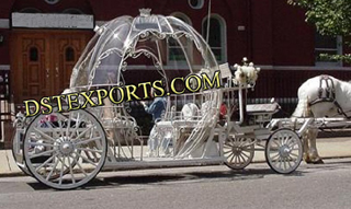 English Wedding Cinderala Horse Carriages