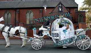 New Wedding Cindrella Carriage