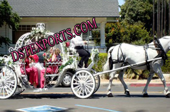 New Cinderella Picnic Carriage For Wedding