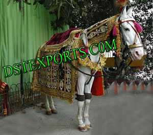 Wedding Embroidered Ghodi Costume