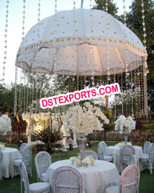 Wedding Stage Embrodried Umbrella/Wedding Umbrella