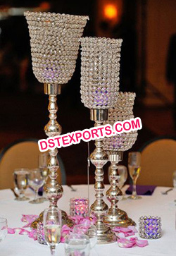 Wedding Table Lamp Type Crystal Stand