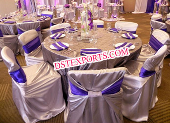 Wedding Self Wrap Chair Cover/Wedding Decoration