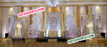 Modern Wedding Stage Backdrop Decorations