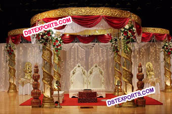We are manufacturer of all type wedding mandaps. S