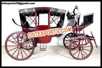 Horse Drawn Covered Carriage For Sale