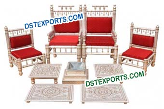 Traditional Indian Wedding Mandap Chairs