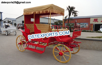 Wedding Royal Victoria Wagon