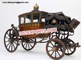Classical Antique Royal Horse Carriage