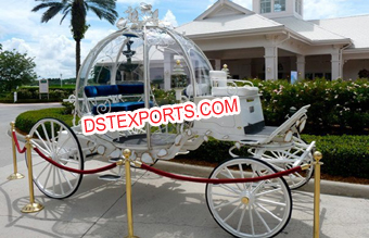 Small Two Seater Cinderella Carriage